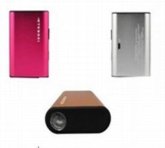 移动电源 铝合金充电宝 手机充电器