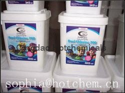 swimming pool chemical multi action tablet for sale 1