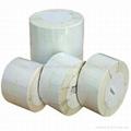 Permanent Adhesive Non Flourcscert Glossy Paper Label 3