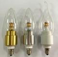 4W Watts 360 degree LED bulb dimmable CE RoSH UL SAA 3