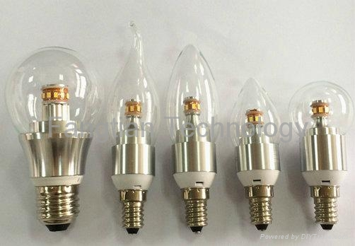 4W Watts 360 degree LED bulb dimmable CE RoSH UL SAA 4
