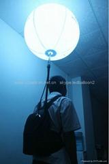 New Design Led Adertising Ball Backpack Balls