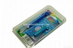 Rainbow loom metal hook Aluminum crochet hook loom accessories upgrade kit mini