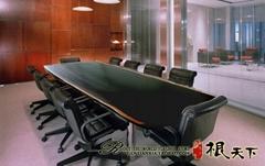 非洲黑檀實木辦公傢具老闆桌