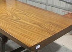 東南亞柚木王實木大板餐桌