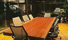 根天下非洲黄花梨实木大板办公桌