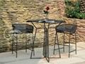 鐵藝桌椅 3