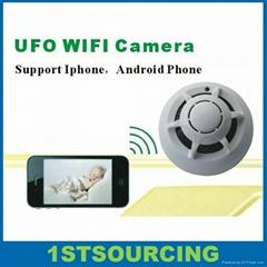 UFO WIFI Camera  Wifi Smoke Detector Camera