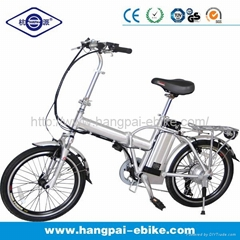 36V 10ah Folding Electric Bike with Lithium Battery HP-E002