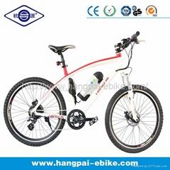 36V 8ah 350W Lithium Bicycle Electric Bike White (HP-E009)