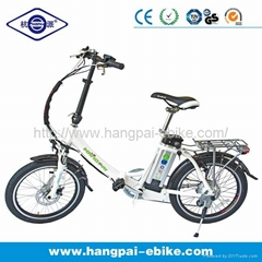 36V 10ah 250W Foldable Electric Bike for Sale (HP-E052)