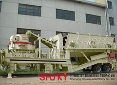 Mobile Vertical Shaft Impact Crusher