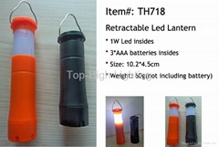2 in 1 Retractable Led Camping Light