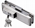 VVP Style Glass Door Lock Patch Fitting 1