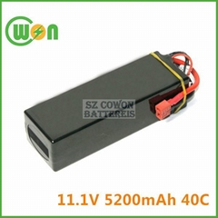 11.1V 40C 5200mAh Battery for Remote Control Battery