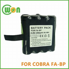 Battery for Cobra  FA-BP two-way radio battery