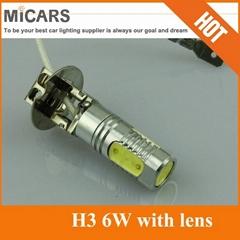 Newest Product High Power H3 6W LED Fog Light