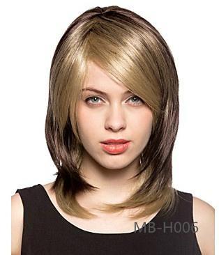 2014 new fashion women's long straight wig 2