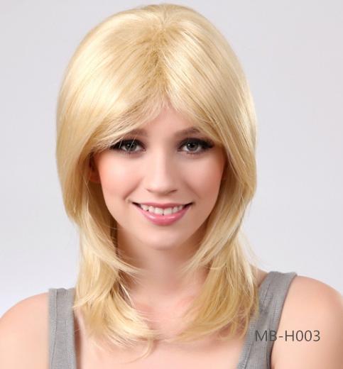 2014 new fashion women's long straight wig 4
