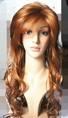 2014 fashion high quality synthetic wig with body wave for women