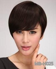 Human hair wig short for 2014 hot seller