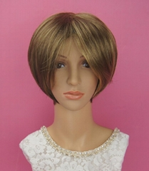 Shot hair BOBO wig for women 2014 in synthenic material