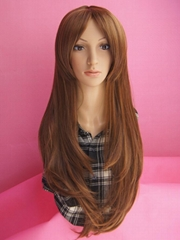2014 women long hair synthetic wig