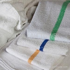 Terry Barmope Striped Towel