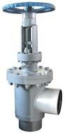 Globe valve for molten salt system