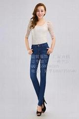 时尚女装牛仔长裤