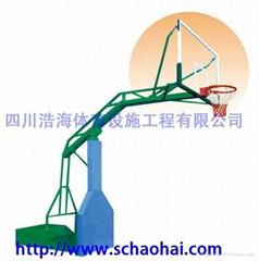 凹箱式移動籃球架