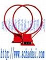 地埋式圆管单臂篮球架 3