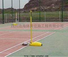 移動式ABS羽毛球柱