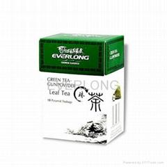 Pyramid Teabags Green Tea Gunpowder