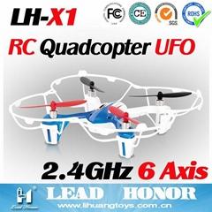 立煌X系列2.4GHz四轴飞行器可3D翻滚遥控飞机LH-X1