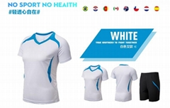 wholesale women low price europe football jersey blank