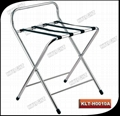 folding stainless steel luggage stand