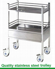 SSU-07 Stainless Steel Medical Carts