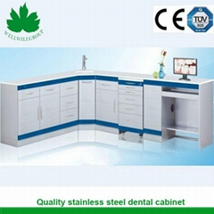 SSL-01 Stainless Steel Dental Cabinets with Sensor Faucet