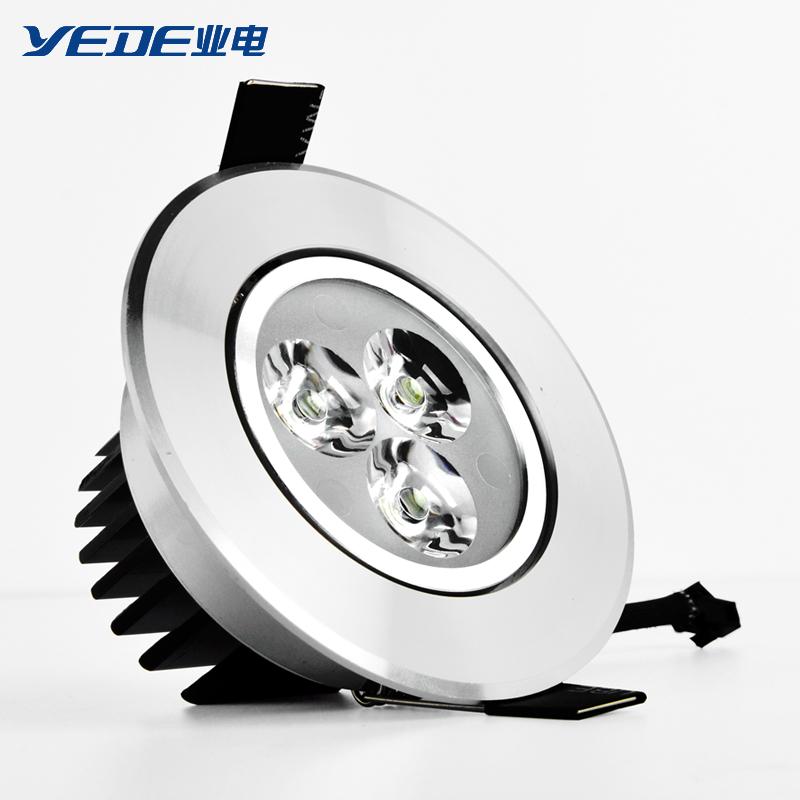 業電 高亮度LED天花射燈 1