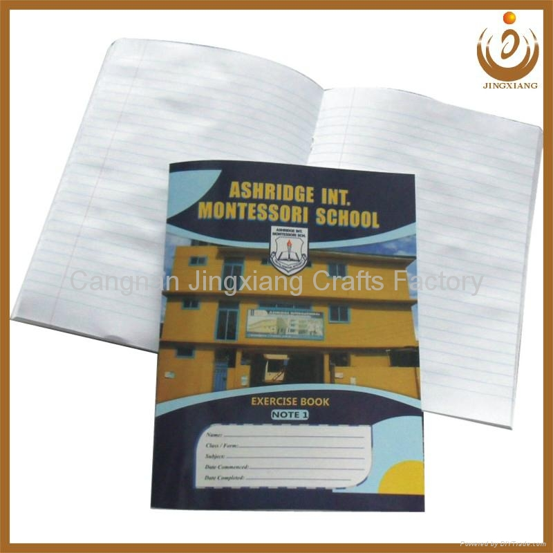 Diy Exercise Book Cover : Ghana school exercise book with saddle stitched binding
