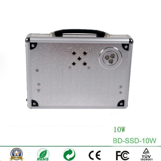 10W Portable Solar Power System with Card Reader Speaker and Radio 2