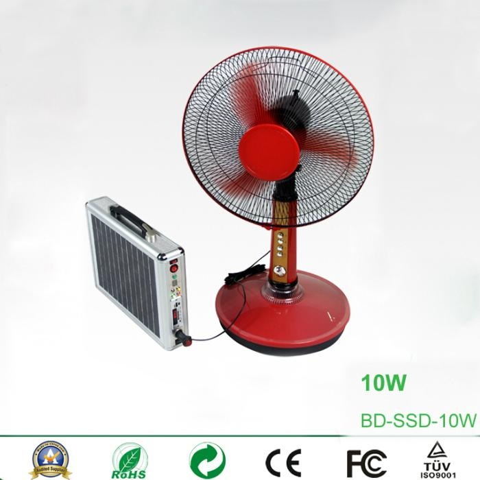 10W Portable Solar Power System with Card Reader Speaker and Radio 4