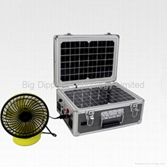 20W Foldable Portable Solar Power System for Travelling and Camping