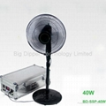 40W Portable Solar Power System with Dual Output for Travelling and Home Use 2