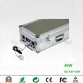 40W Portable Solar Power System with Dual Output for Travelling and Home Use 3