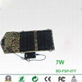 7W portable foldable solar charger for smartphones 2