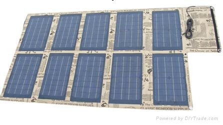 100W foldable solar charger panel for laptops and mobile phones 1