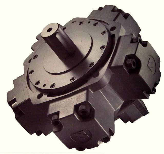 Radial Piston Hydraulic Motor : Hydraulic radial piston motor jmdg sai