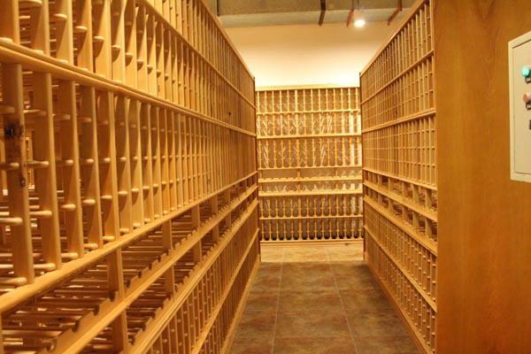 红酒实木酒架效果图/实木酒架设计/红酒架厂家 2